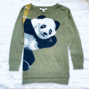 BUNDLE ONLY ❗️ Love by Design Panda Olive Sweater